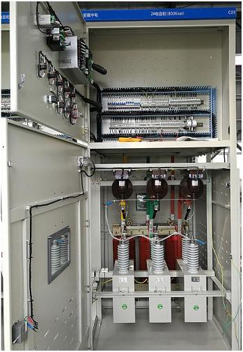 6kv automatic power factor correction panel